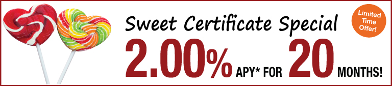 Sweet Certificate Special Promotion