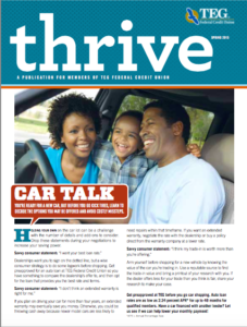 Thrive Spring 2015 Edition