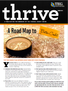 Thrive Summer 2015 Edition