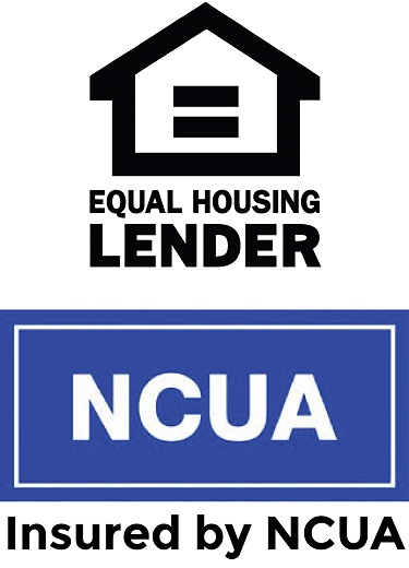 Equal Housing Lender and NCUA Logos