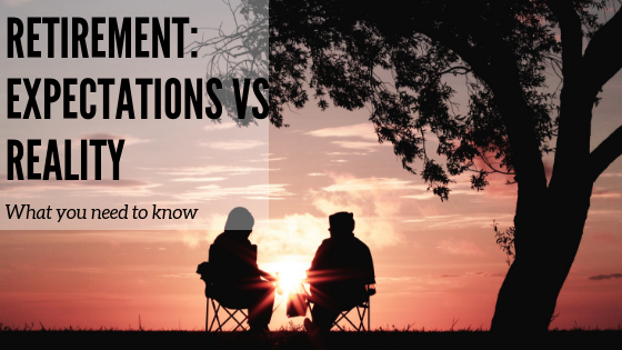 Retirement: expectations versus reality