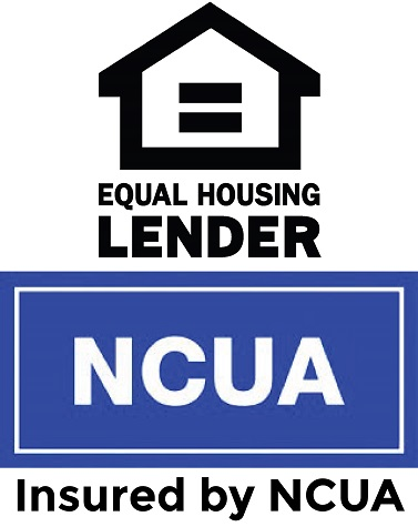 Equal Housing Lender and NCUA Logos - Insured by NCUA