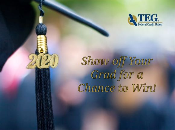 Show off your grad for a chance to win