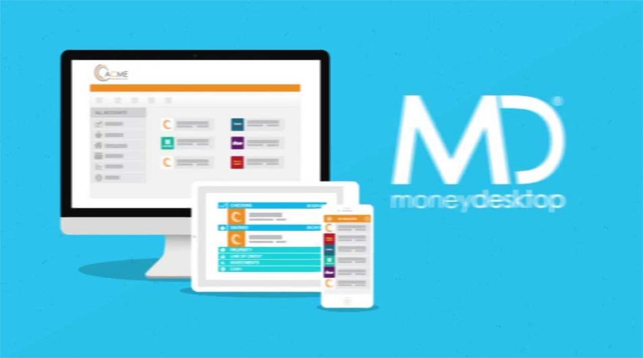 Money Desktop digital image for easy use