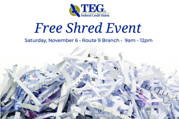 Free Shred Event November 6