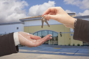 Handing over keys to new business