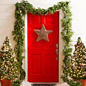 Red-Holiday-Door