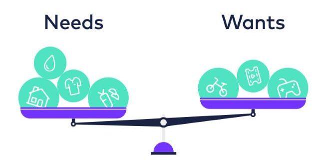 Needs versus Wants