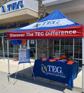 TEG Member Appreciation Day Booth