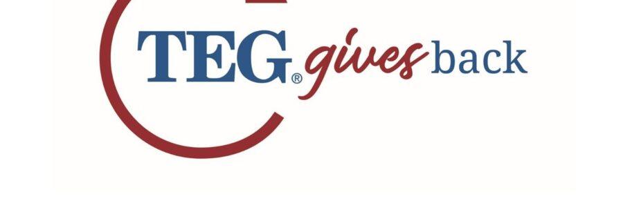 TEG Gives Back Logo